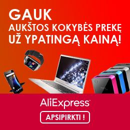 Nuolaidos AliExpress