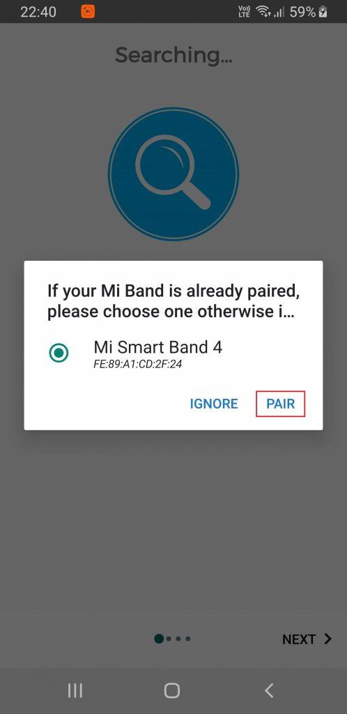 Xiaomi Mi Band 4 lietuvių kalbos nustatymas #1