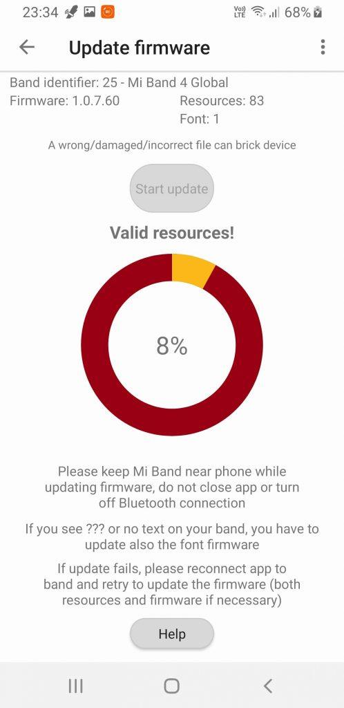 Xiaomi Mi Band 4 lietuvių kalbos nustatymas #10