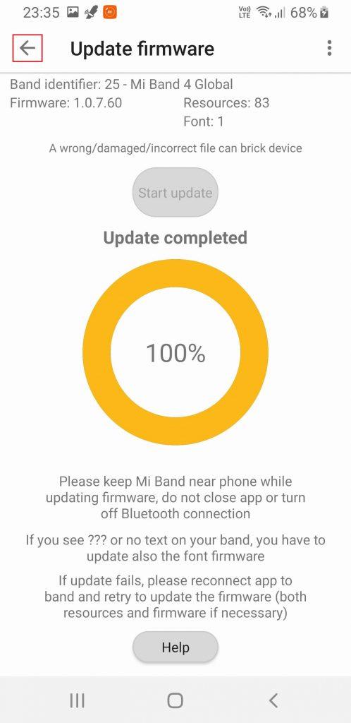 Xiaomi Mi Band 4 lietuvių kalbos nustatymas #11