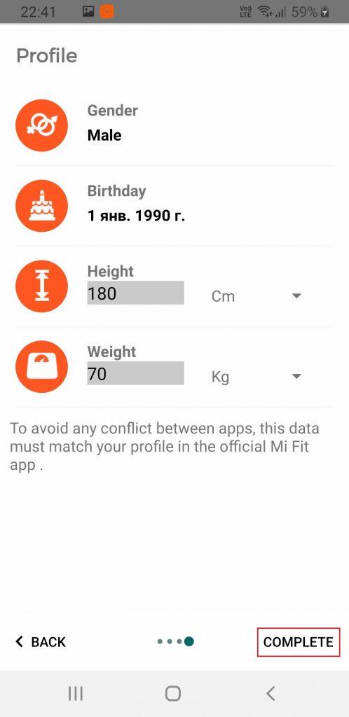 Xiaomi Mi Band 4 lietuvių kalbos nustatymas #4