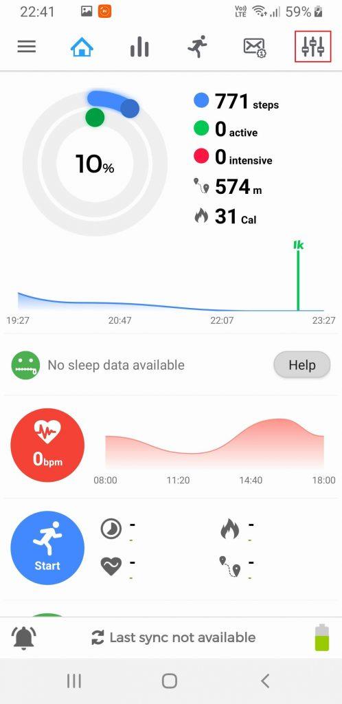 Xiaomi Mi Band 4 lietuvių kalbos nustatymas #5